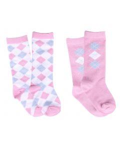 QHP Baby sock Check (set di 2)