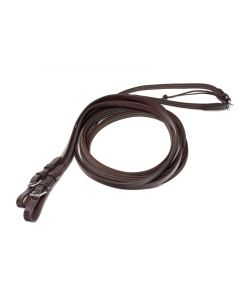 Redini marroni antiscivolo Ideal Anti-Slip Reins Brown