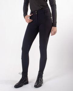 QHP Pantaloni da equitazione Sella antiscivolo Diamond