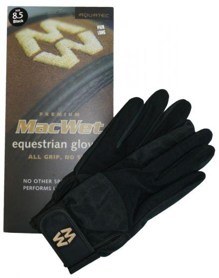 Hofman Guanti da equitazione Micro Mesh 10 Black