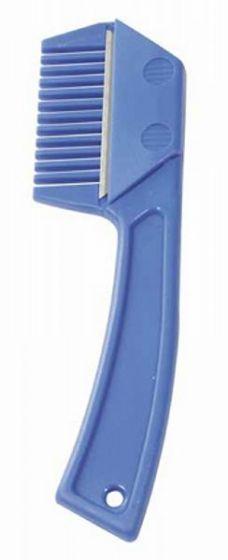 PFIFF Pettine maschile con coltello Blu