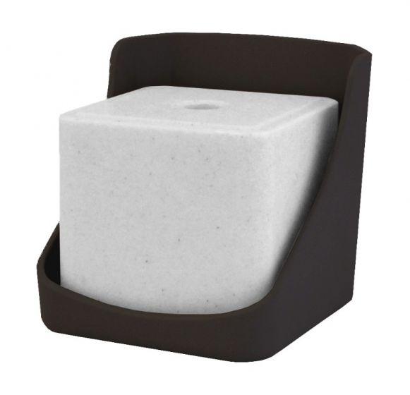 Hofman Leccare Pietra Titolare in plastica DURA per 10 kg lecca