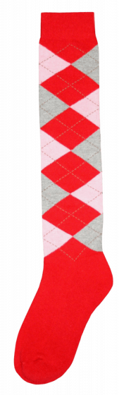 Excellent Calzini al ginocchio RE rosso / rosa / grigio 43-46