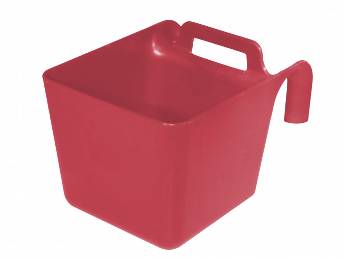 Hofman Ciotola per alimenti con sospensione e manico verde KS